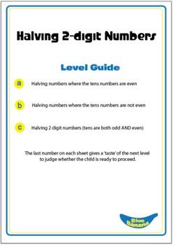 Halving 2-digit Numbers