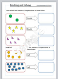 Halving and doubling worksheet