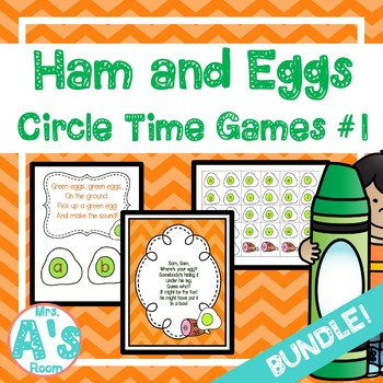 Ham and Eggs Circle Time Activities