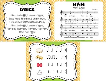 Ham and Eggs - Fun Folk Song with Orff Accompaniment