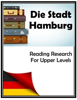 (GERMAN GEOGRAPHY) Hamburg Sight Seeing Research Project —Graphic Organizer