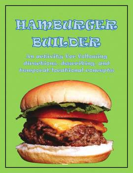 Hamburger Builder - A Following Directions Activity
