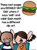 Hamburger Homework Cover Page