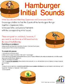 Hamburger Initial Sounds