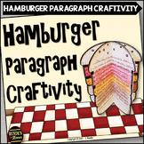 Hamburger Paragraph Craftivity