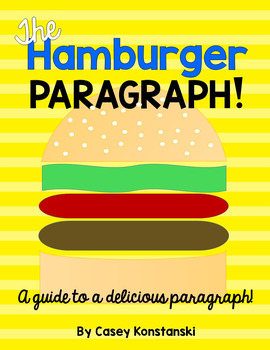 Hamburger Paragraph-Informational Writing/ Writing Test Prep