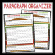FREE PARAGRAPH WRITING GRAPHIC ORGANIZER HAMBURGER METHOD