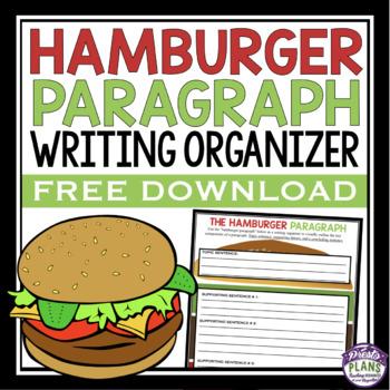 Essay writing hamburger method