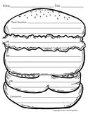 Hamburger Paragraph Picture Template