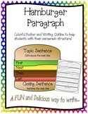 Hamburger Paragraph Structure and Outline