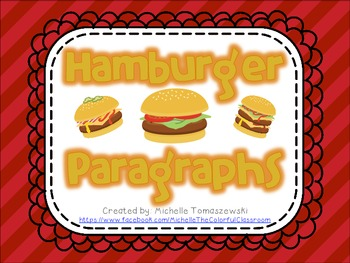 Hamburger Paragraph Writing