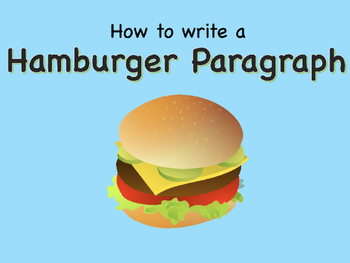Hamburger paragraph writing graphic organizer teaching resources hamburger paragraph writing powerpoint hamburger paragraph writing powerpoint ccuart Choice Image