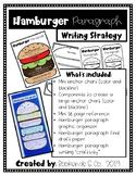Hamburger Paragraph Writing Strategy