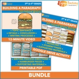 Hamburger Paragraph Writing Video, Handouts, Posters, and