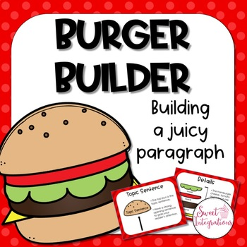 Burger Builder:  How to Write a Juicy Paragraph Powerpoint