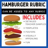 Hamburger Rubric Templates - Editable