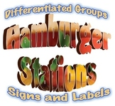Hamburger Stations: Interactive Bulletin Board Set for Differentiated Groups