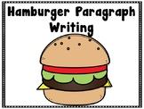 Hamburger Supporting Sentences Paragraph Writing {COLOR & Black&White} BUNDLE