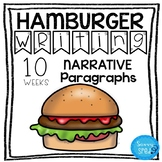 Hamburger Writing- Narrative Paragraphs- GREAT for regular ed and special ed