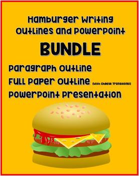 Hamburger Writing Bundle