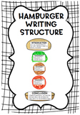 Hamburger Writing Structure