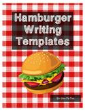 Hamburger Writing Templates