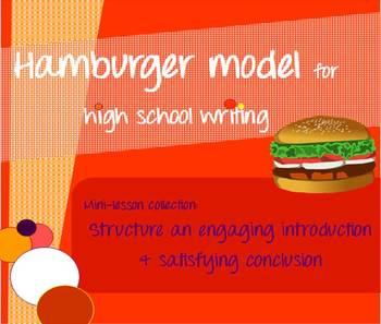 Hamburger model mini-lessons - Introduction & conclusion paragraphs