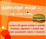 Hamburger Model [COMPLETE] - build writing skills in any high school subject