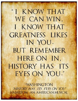 Hamilton Quotes Hamilton: An American Musical Quotes by Julie Purin | TpT Hamilton Quotes