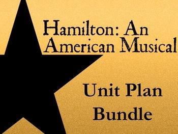 Hamilton: An American Musical - Unit Plan Bundle