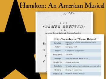 "Hamilton ""Farmer Refuted"" Historical Investigation Lesson Plan"