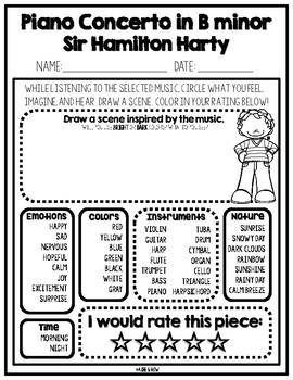 Hamilton Harty (December 4th Birthday) Ireland, St. Patrick's Day Activities