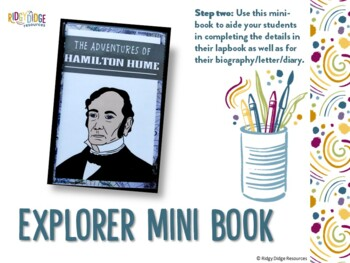 Hamilton Hume Australian Explorers Lapbook Series