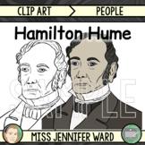 Hamilton Hume Clip Art