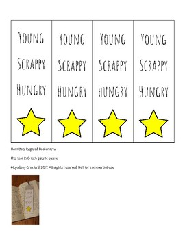 Young Scrappy Hungry Bookmarks