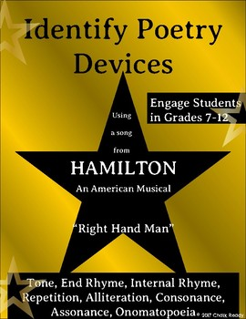 Hamilton Poetry Lesson Plan