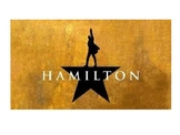 Hamilton (Musical) Act I Character Description Powerpoint