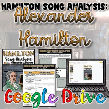 "Hamilton Song Analysis:  ""Alexander Hamilton""- {Digital}"