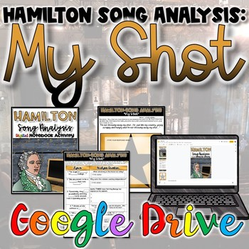 "Hamilton Song Analysis:  ""My Shot""- {Digital}"