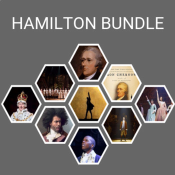Hamilton Stage to Classroom- 4 Lesson Bundle