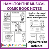 Hamilton The Musical: Comic Book Notes