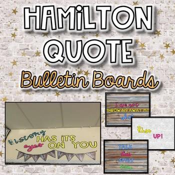 Hamilton Themed Bulletin Boards