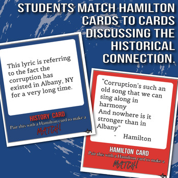 Hamilton and History Card Game Constitution and Washington Edition
