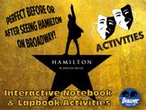 Hamilton on Broadway Activities Pack