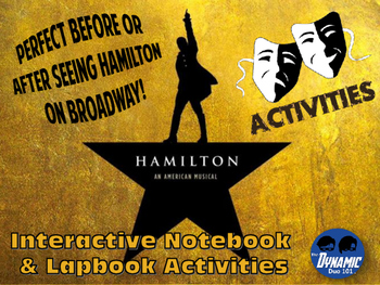 Hamilton on Broadway Activities Pack