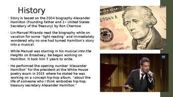 Hamilton the Musical PowerPoint