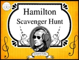 Hamilton the Musical Scavenger Hunt Activity for Grades 7-12