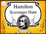 Hamilton the Musical Scavenger Hunt Activity for Grades 7-12