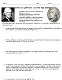 Hamilton vs. Jefferson Cabinet Rap Battles 1 and 2 Analysis