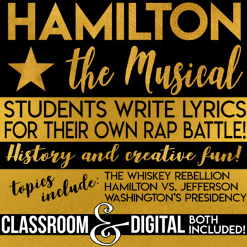 jefferson vs hamilton teaching resources teachers pay teachers jefferson rap battle alexander hamilton musical students write hamilton vs jefferson rap battle